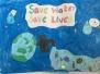 Green schools Water Flag