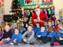 Santa Visits Our School 2013